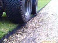 5m Black Smartedge - strong flexible, long lasting lawn edge. Easy to install.